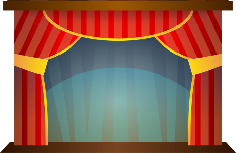 Clip art of a Stage